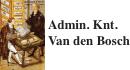 Admin Knt Van den Bosch